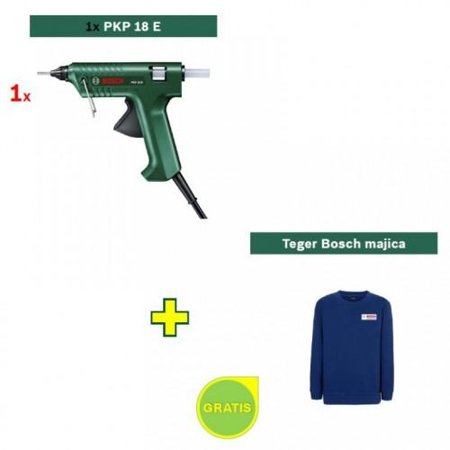 Pištolj za lepljenje Bosch PKP 18 E + poklon