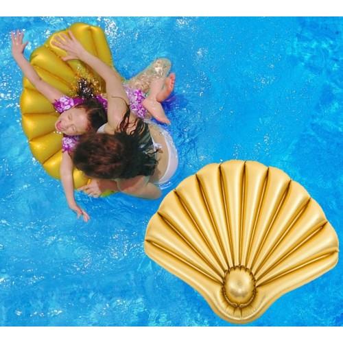 Plutajuća školjka Gold Giant Luxe 108x70 cm