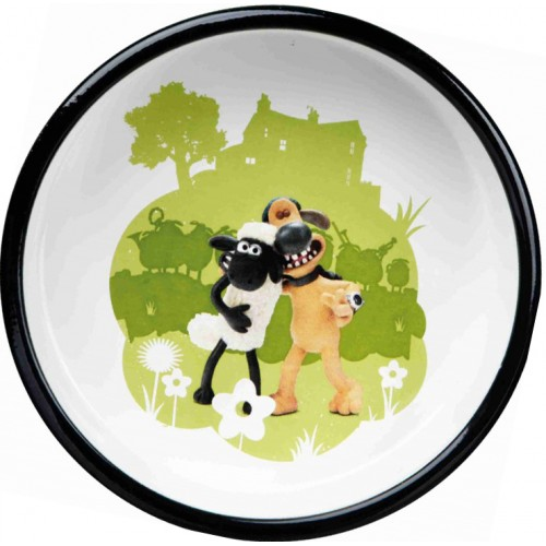 Posuda za psa Ovca zelena 16 cm