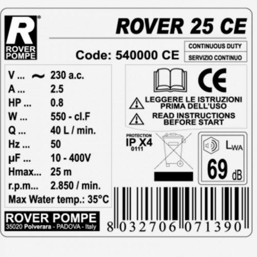 Priključna pumpa za pretakanje Rover 25