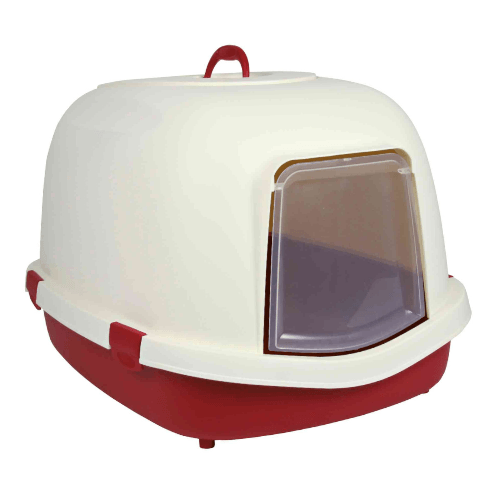 Primo XL toalet za mačke bordo-krem