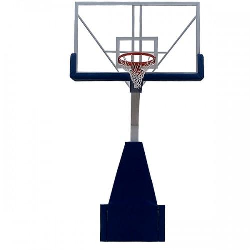 Sklapajuća profesionalna košarkaška konstrukcija sa pleksiglas tablom 1800x1050