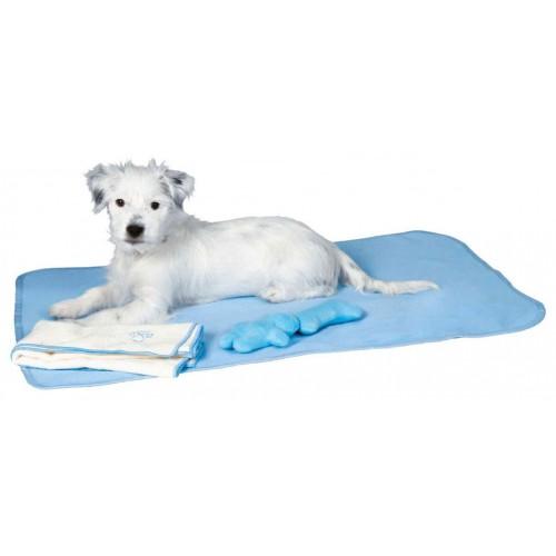Prostirka - ćebence i peškir za štence Trixie blue