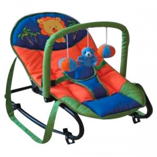 Ležaljka ljuljaška za bebe Puerri Conforte lav
