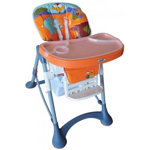 Stolica za hranjenje Puerri Hungry narandžasta
