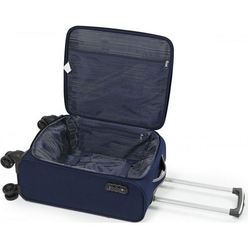 Putni kabinski kofer Zambia blue 38x55x20 cm