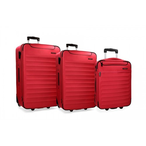 Putni koferi set 3/1 Nairobi crvena 53.294.64