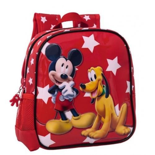 Ranac za vrtić 25 cm Mickey & Pluton 20.620.51