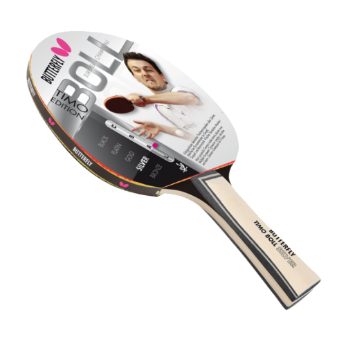 Reket za stoni tenis Butterfly Silver Timo Boll Edition