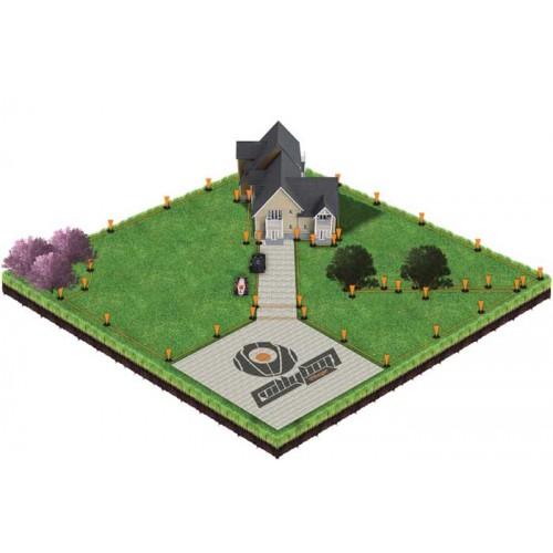 Robot kosačica za travu Villybot Villager Black Edition