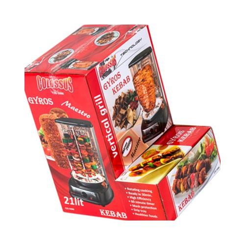 Električni roštilj za giros, kebab, piletinu Colossus CSS-5088