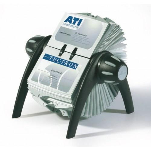 Rotacioni viziter Visifix Flip za 400 kartica Durable crna