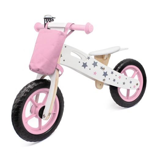 Balance Bike 755 Bicikl bez pedala za decu Roze