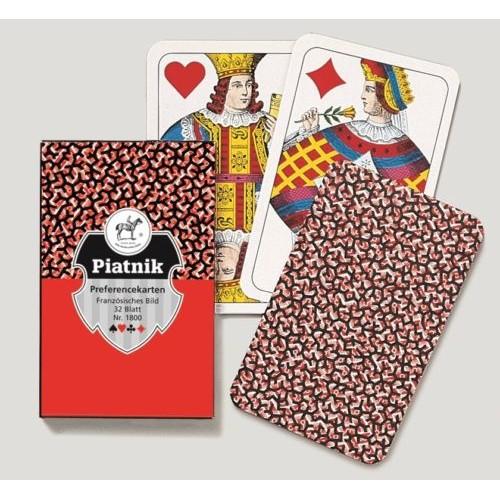 Piatnik karte Preferans 1800