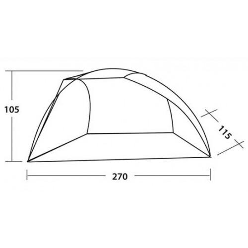 Šator Easy Camp Beach Blue 120297