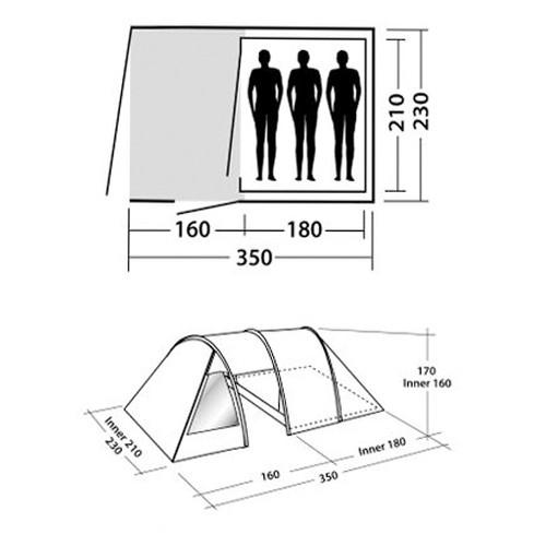 Šator Galaxy 300