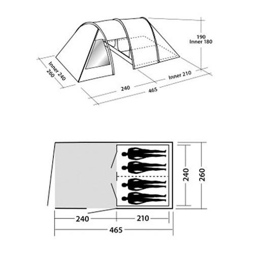Šator Galaxy 400