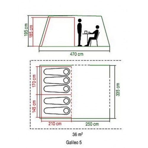 Šator Galileo 5