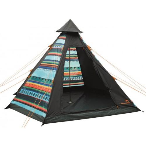 Šator za četiri osobe Easy Camp Tipi Tribal Colour