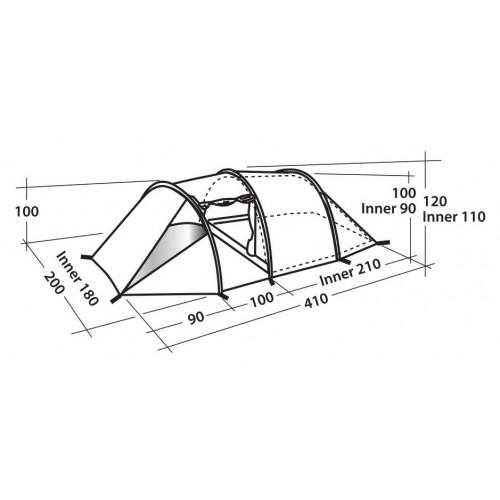 Šator za kampovanje Spirit 300