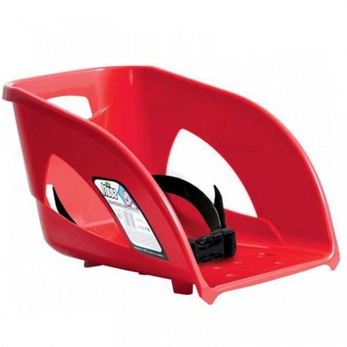 Sedište sa naslonom za sanke Prosperplast Bullet crveno