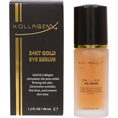 KollagenX Serum za predeo oko očiju 24KT Gold