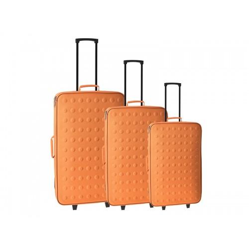 Set 3 kofera Rio narandžasta