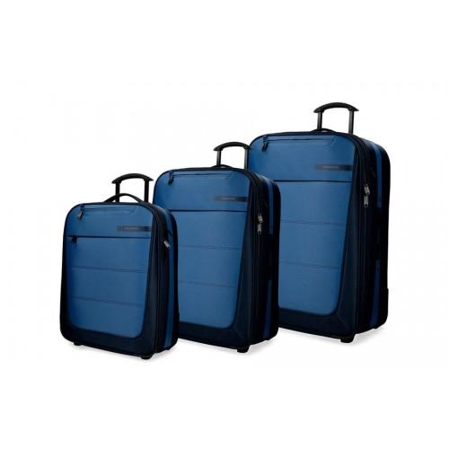 Set kofera 3/1 Movom Detroid  Blue 53.394.62
