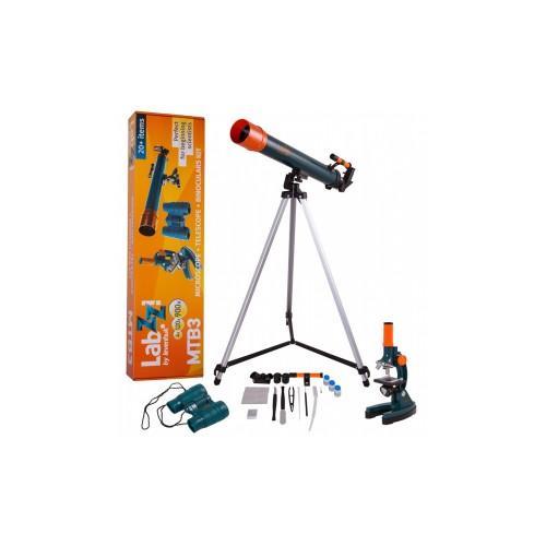 Set teleskop + mikroskop + dvogled LabZZ MTB3