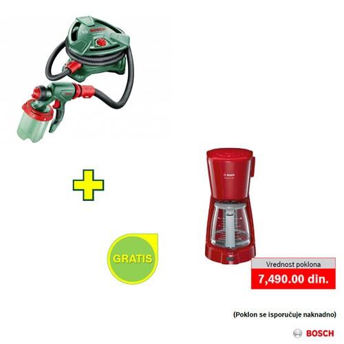 Sistem za prskanje boje Bosch PFS 5000 E + poklon
