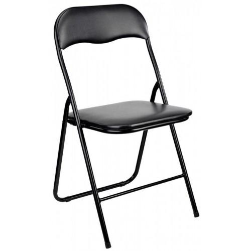 Sklopiva stolica Black VG crna