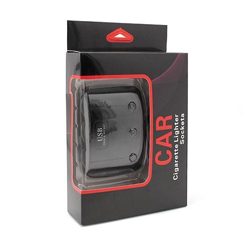 Produžni adapter za upaljač 512 sa 3 rupe