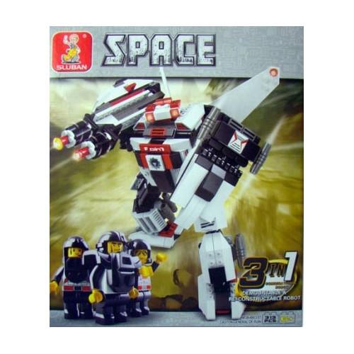 Sluban kocke 3 u 1 robot
