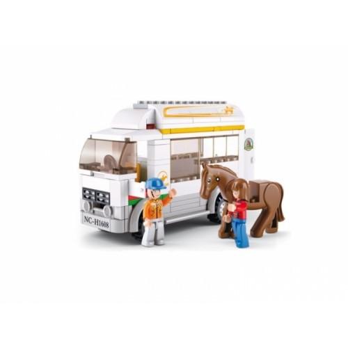Sluban kocke Farmerski kamion sa konjićem 170 kom
