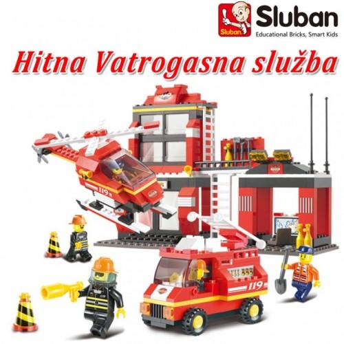Sluban kocke hitna vatrogasna služba