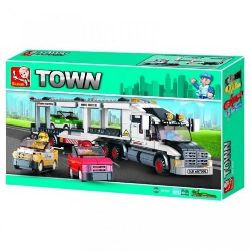 Sluban kocke Kamion transporter 638 kom