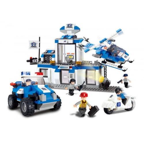 Sluban kocke Policijska stanica 492 kom