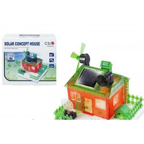 Edukativna igračka Solar House 3 u 1