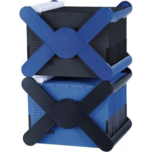 Stalak za viseće fascikle X-Cross siva
