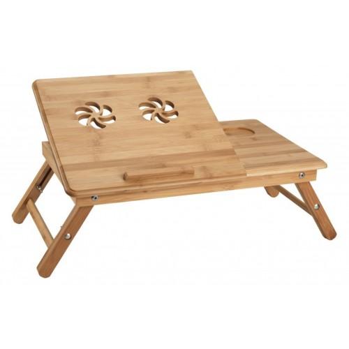 Stočić za laptop Bambus