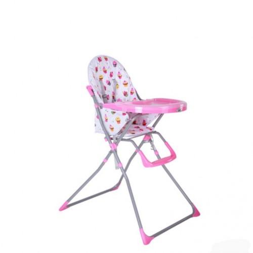 Stolica za hranjenje Puerri Picola pink cupcakes