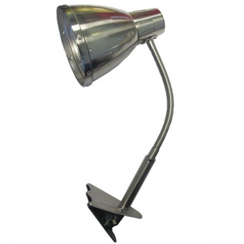 Stona lampa sa sa štipaljkom saten-nikl EL7958