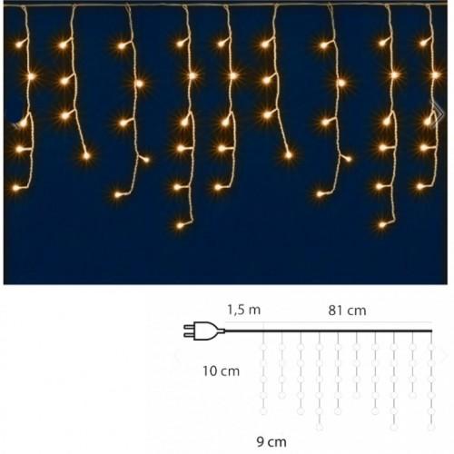 Svetleći niz sa 50 toplo belih LED dioda KAF50LED/WW