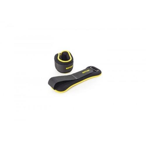 Teg za ručni zglob Kettler black-yellow 2x1 kg
