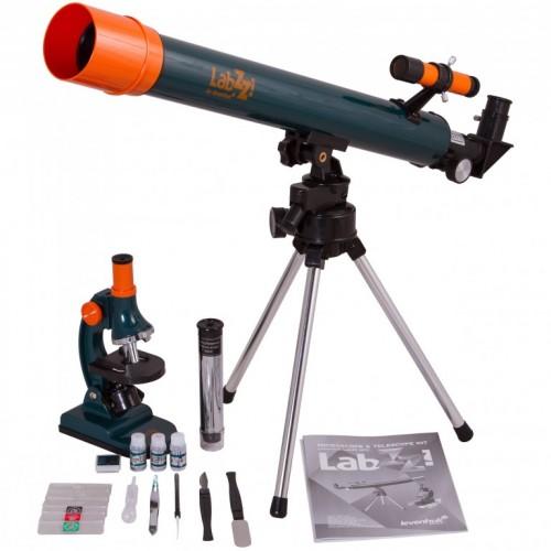 Teleskop i mikroskop komplet LabZZ MT2