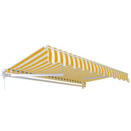Tenda 4x2.5m žuto bela