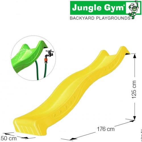 Tobogan vodeni spust od 220 cm žuti