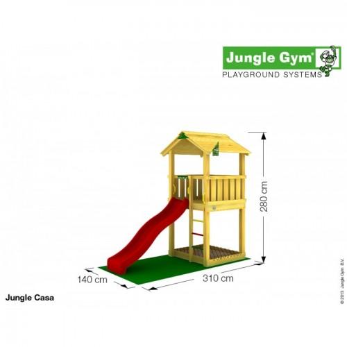 Toranj za decu sa toboganom Casa