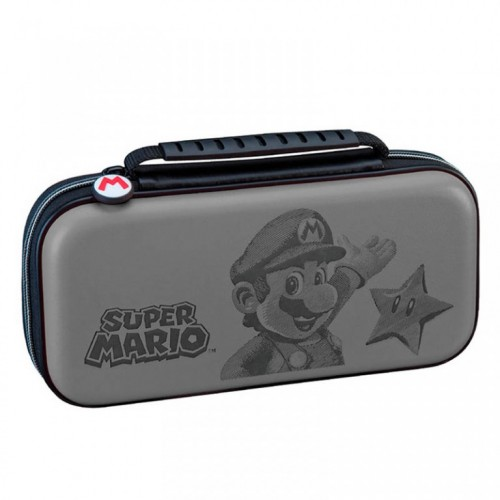 Torbica za Nintendo Switch Travel Case Mario Grey