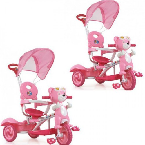 Tricikl Meda pink 2 kom